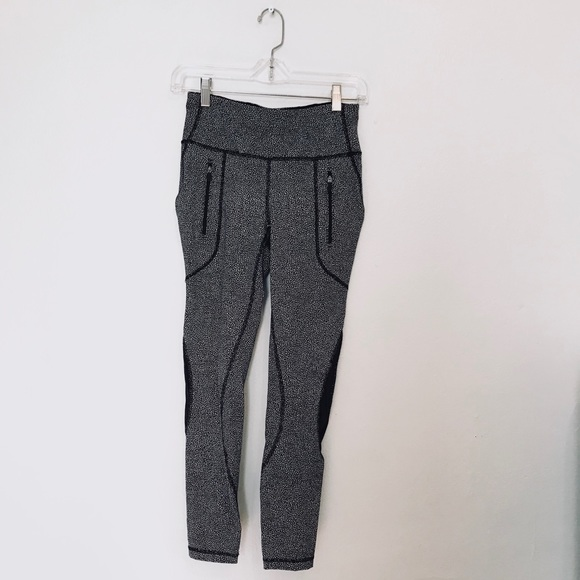 Lululemon Athletica Pants Jumpsuits Sale Spotted Static Lululemon Leggings Poshmark